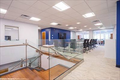 Corrigan Interior corporate office improvement project