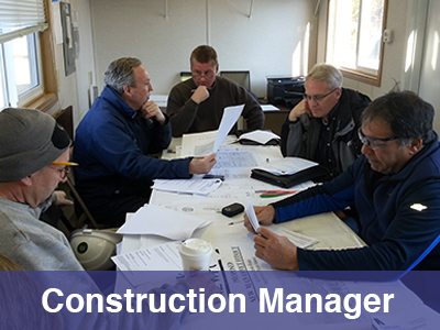 Construction Manager Farrar and Associates