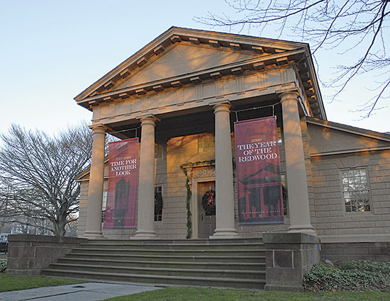 Redwood Library Historic Restoration And Addition Farrar Associates