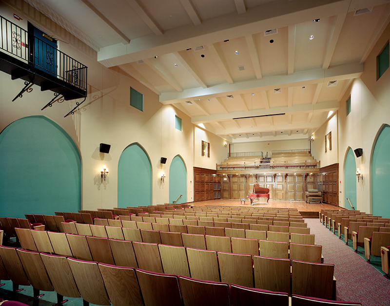 Providence College Performing Arts Center Farrar Assoc