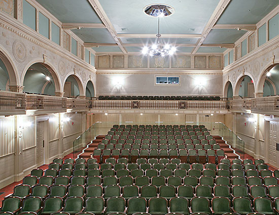 construction management at Stanford White Casino Theatre Newport