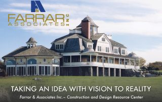 taking an idea with vision to reality with Farrar Assoc