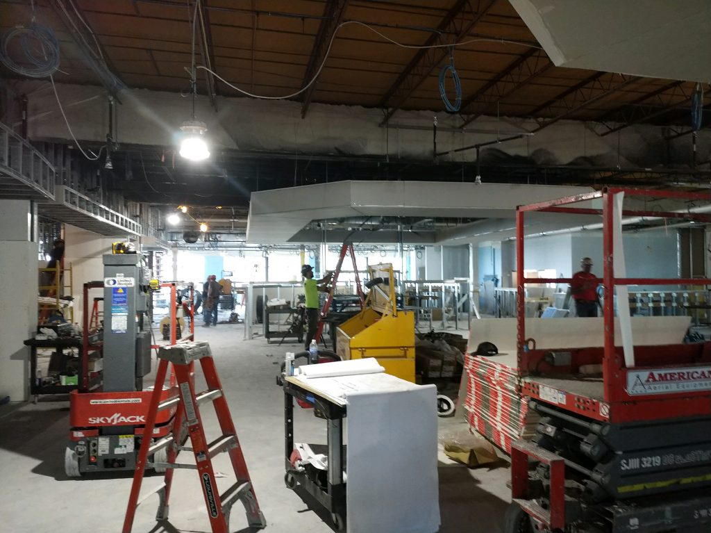 Providence College Raymond Hall Facility renovation and expansion